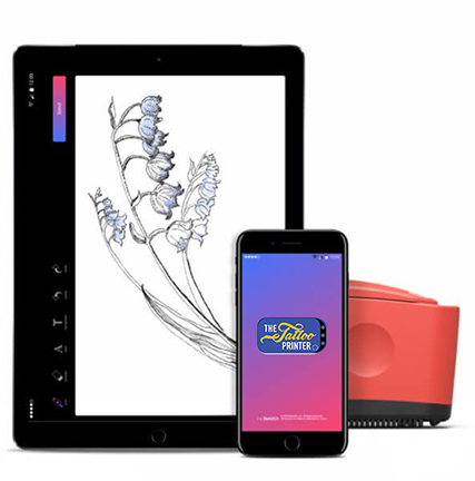 The Tattoo Printer Tablet App, Credit: Fun 4 Events